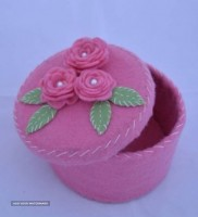 Felt jewelry box For Export