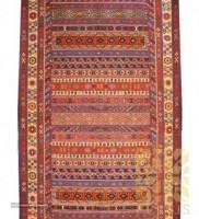 Korasan rug Nobaft with Sirjan kilim design For Export